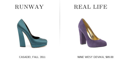 Step It Up For Fall: 5 Affordable Shoe Trends-Chunky Heels