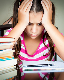 Helping Your Child Overcome School Test Anxiety
