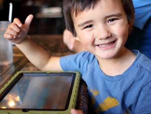 iPad apps for children