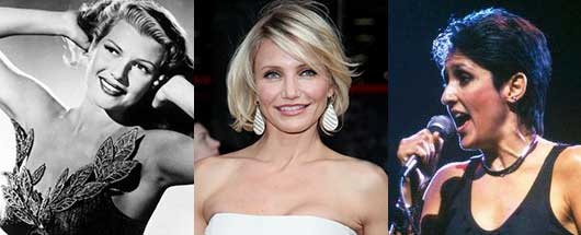 6 Celebrities You Probably Didn't Know Were Latina-Rita Hayworth, Cameron Diaz, Joan Baez