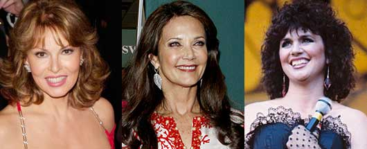 6 Celebrities You Probably Didn't Know Were Latina-Raquel Welch, Lynda Carter, Linda Rondstadt
