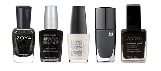 Top Nail Colors for the Holidays-Black