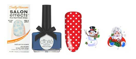 Top Nail Colors for the Holidays-Artistic