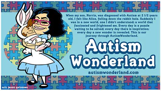 Never Give Up on a Dream!-Blogger Spotlight Autism Wonderland