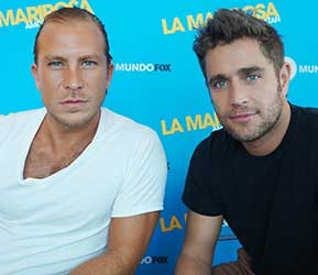 Michel Brown & Salvador Zerboni of MundoFox's 'La Mariposa': True Latin Lovers