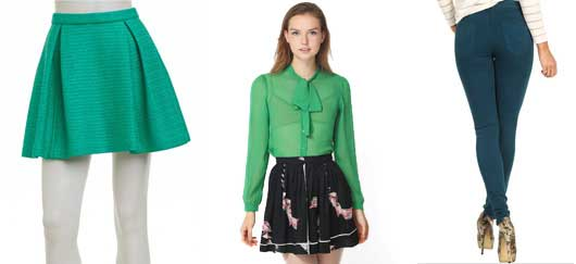 Accessorize for St. Patrick's Day in Pantone Color of the Year: Emerald