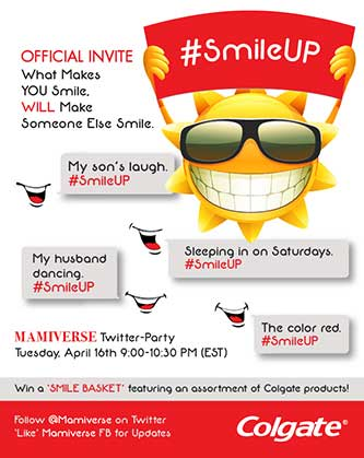 First-Ever Mamiverse #SmileUP Social Media Event to Inspire Joy & Gratitude