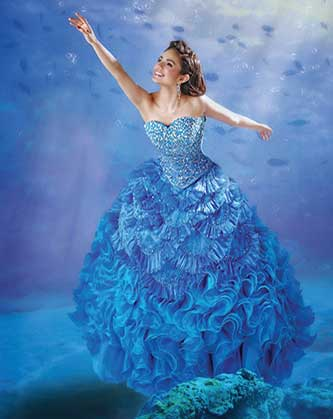 Disney Royal Ball Quinceañera Collection: Be a Princess for a Day!