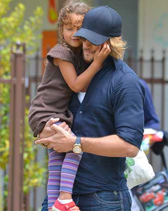 Halle Berry & Gabriel Aubry's School Run