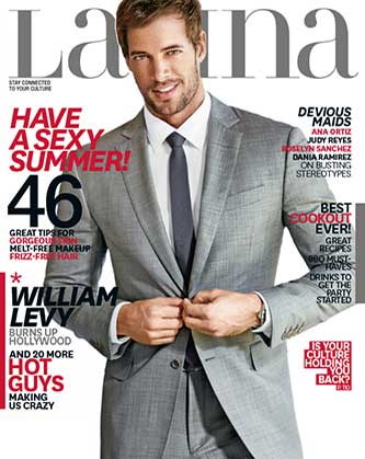 Exclusive Pics: William Levy's Latina Magazine Cover Shoot