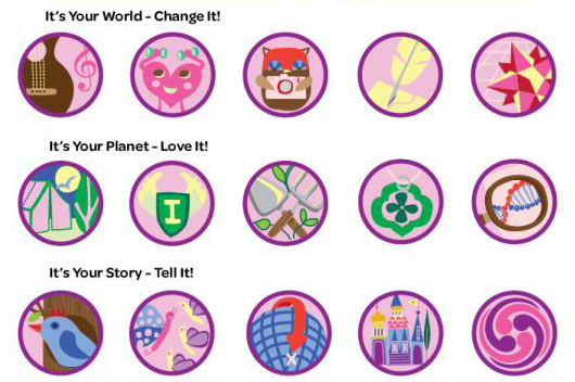 15 Girl Scout Badges We Wish Existed