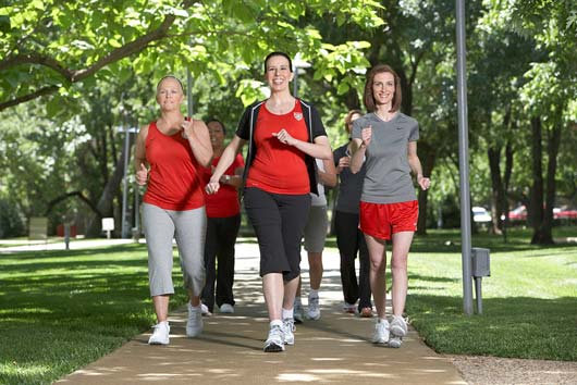 Lace Up Your Shoes for AHA's National Walking Day!