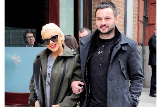 Christina Aguilera Shows Off New Baby Bump in NYC!